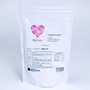 Welina. ソイプロテイン黒蜜きなこ味 500g